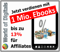 World of Digitals - Geld verdienen als Affiliate mit mehr als 1 Mio. Ebooks